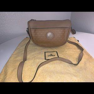 Authentic fendi micro zucca crossbody shoulder bag